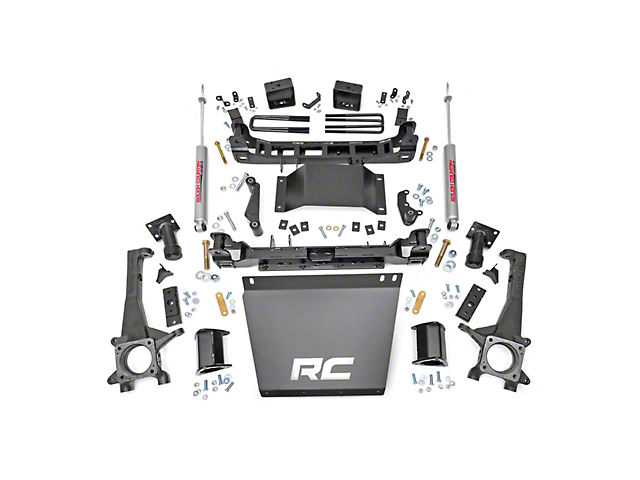 Rough Country 6 in. Suspension Lift Kit (05-15 4WD Tacoma)