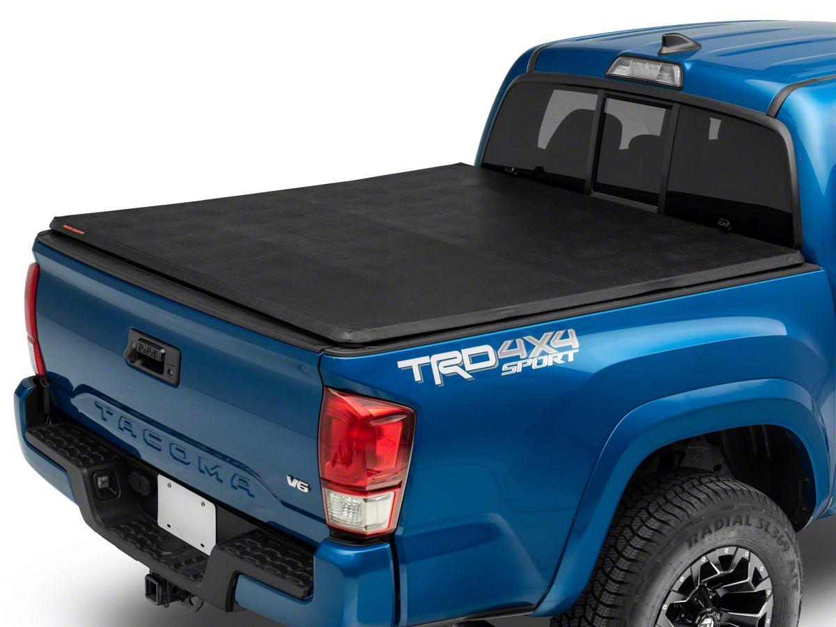 Rough Country Tacoma Soft Tri Fold Tonneau Bed Cover Tt1872 16 21 Tacoma W 5 Ft Bed