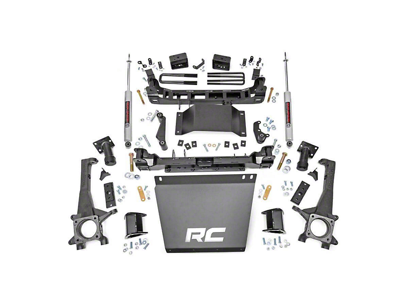 Rough Country 4 in. Suspension Lift Kit (16-20 4WD Tacoma)