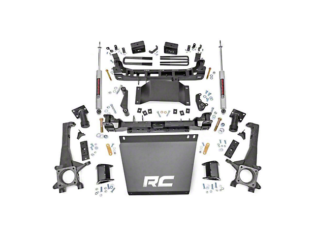 Rough Country 4 in. Suspension Lift Kit (16-19 4WD Tacoma)