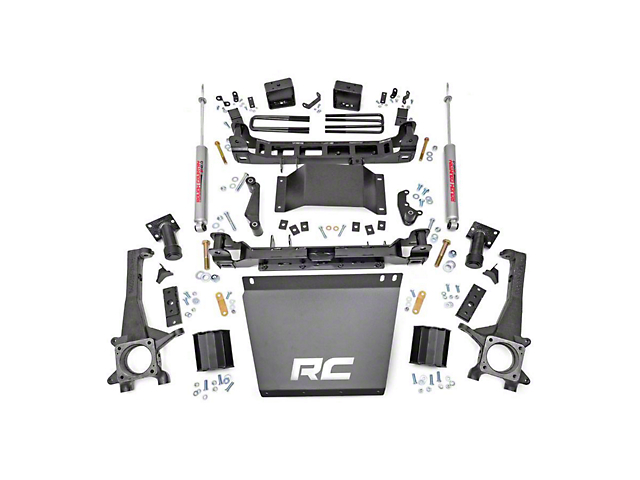 Rough Country 6 in. Suspension Lift Kit (16-20 4WD Tacoma)