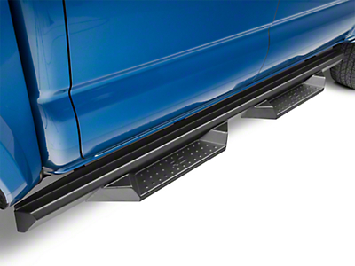 Rough Country Cab Length DS2 Drop Side Step Bars (05-19 Tacoma Double Cab)
