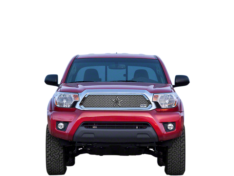 RBP RL Series Smooth Upper Replacement Grille - Chrome (12-14 Tacoma)
