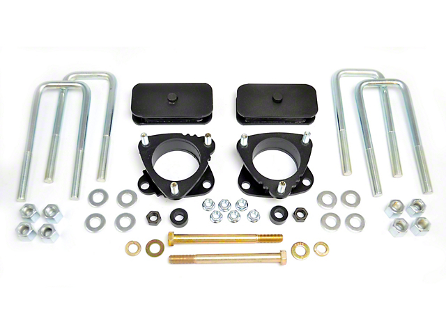 RBP 3 in. Front / 1 in. Rear Leveling Kit (05-20 6-Lug Tacoma)