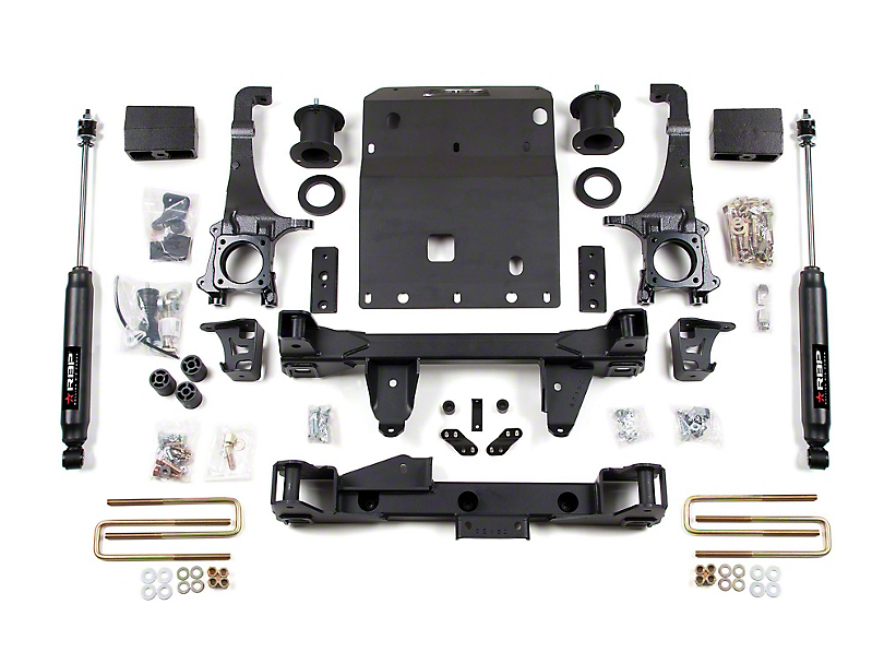 RBP 4-Inch Suspension Lift Kit with Performance Shocks (05-15 4WD Tacoma)