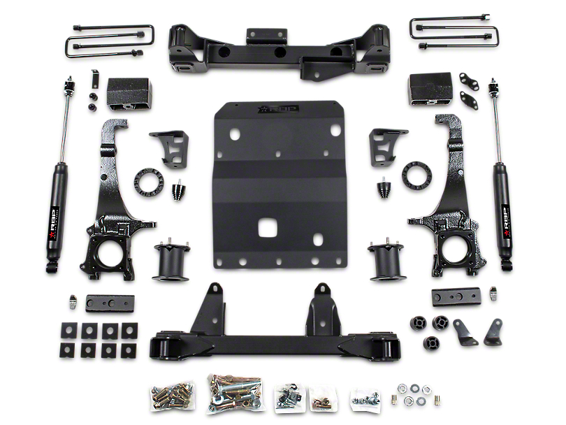 RBP 6-Inch Suspension Lift Kit with Performance Shocks (16-20 4WD Tacoma)