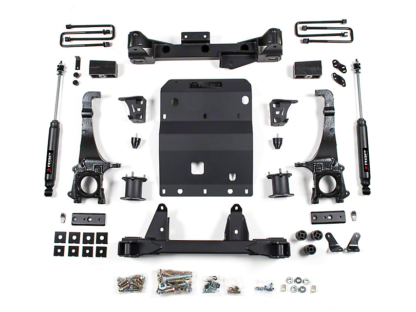 RBP 4-Inch Suspension Lift Kit with Performance Shocks (16-20 4WD Tacoma)