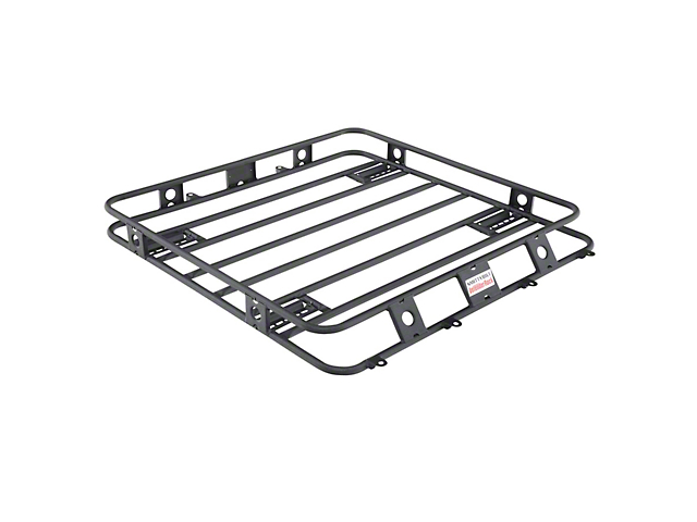 Smittybilt Defender Roof Rack - 4 ft. x 4 ft. (05-19 Tacoma Access Cab, Double Cab)