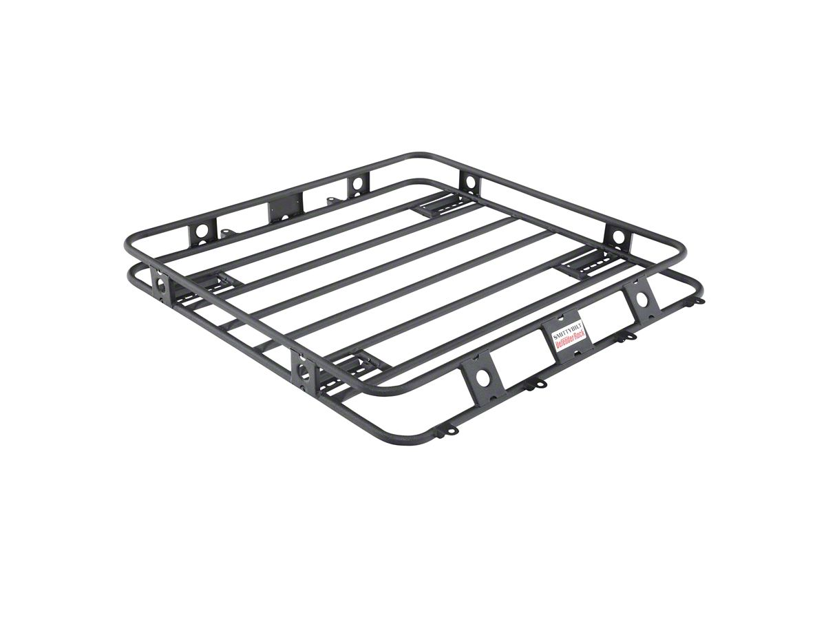 Smittybilt Tacoma Defender Roof Rack 4 Foot X 4 Foot 40404 05 21 Tacoma Access Cab Double Cab