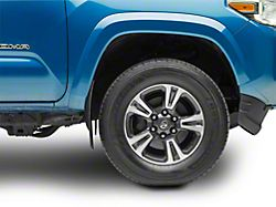 Weathertech No Drill Front Mud Flaps - Black (16-19 Tacoma w/o OE Fender Flares)