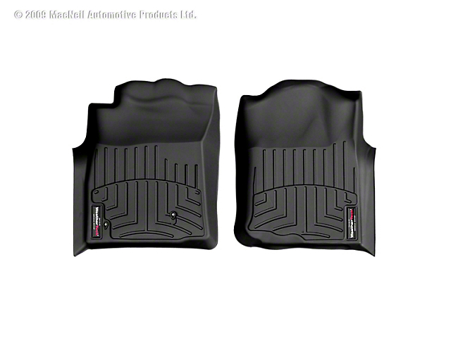 Weathertech DigitalFit Front Floor Liners - Black (05-07 Tacoma)