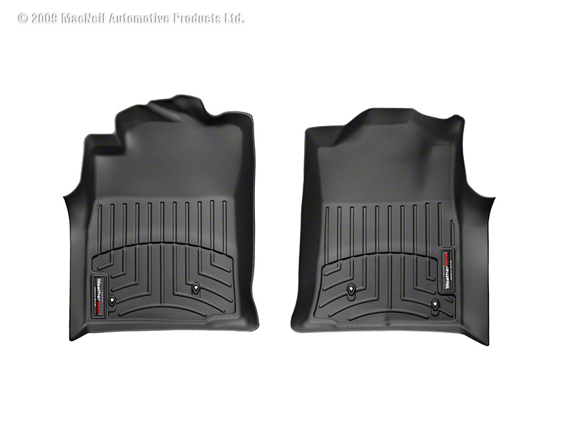 Weathertech DigitalFit Front Floor Liners - Black (08-11 Tacoma)