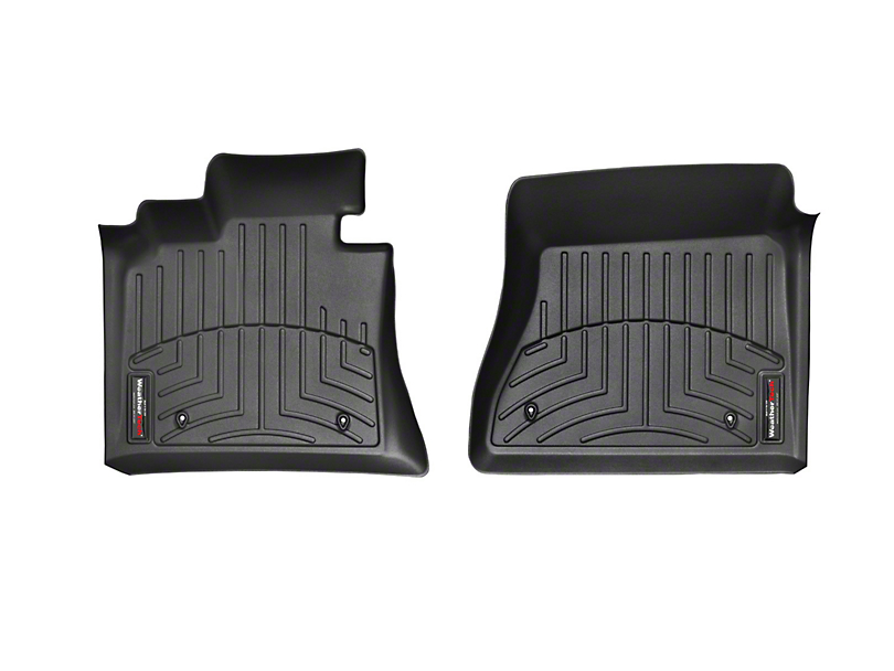 Weathertech DigitalFit Front Floor Liners - Black (12-15 Tacoma Double Cab)