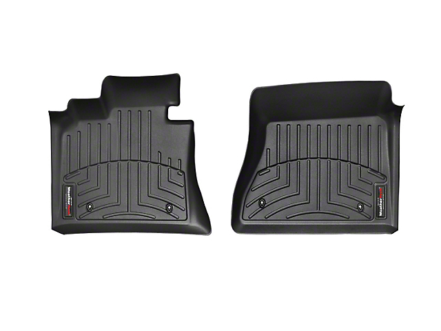 Weathertech DigitalFit Front Floor Liners; Black (12-15 Tacoma Double Cab)