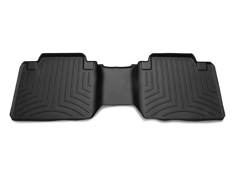 Weathertech DigitalFit Rear Floor Liner - Black (05-19 Tacoma Access Cab)