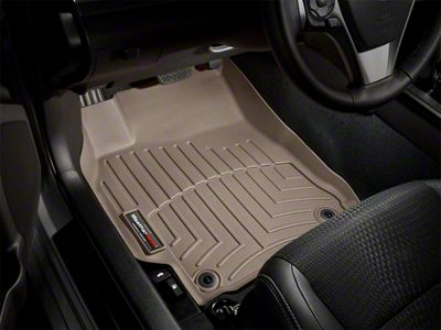WeatherTech Front FloorLiner for Select Toyota Tacoma Models Tan 453792