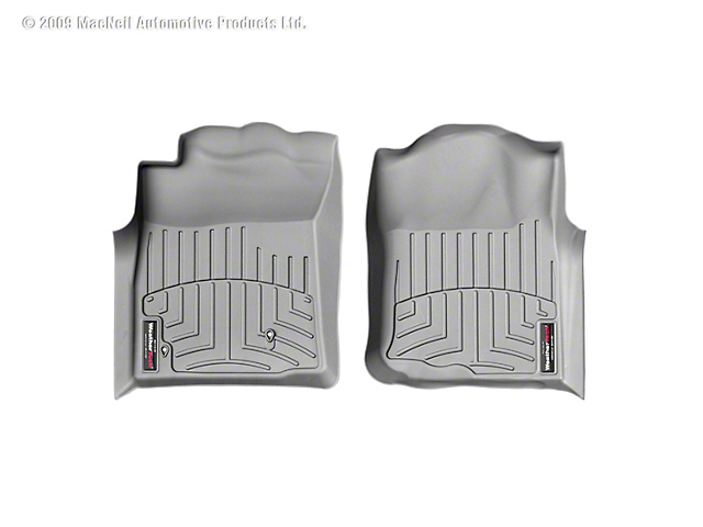 Weathertech DigitalFit Front Floor Liners - Gray (05-07 Tacoma)