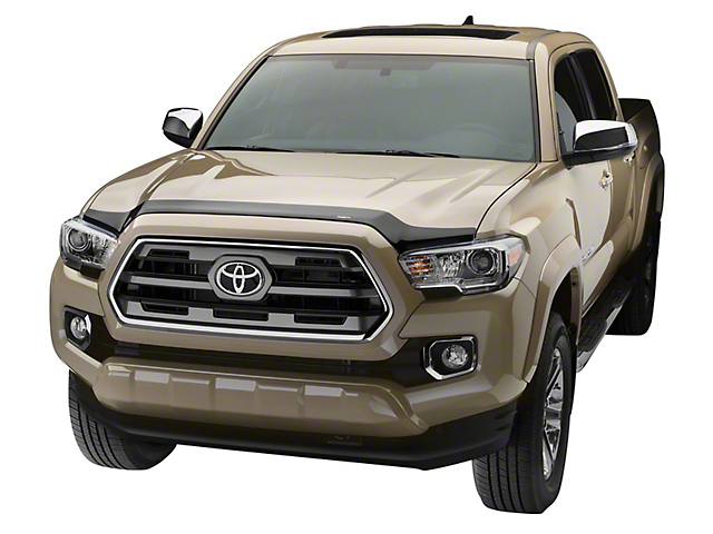 Weathertech Low Profile Hood Protector - Dark Smoke (12-15 Tacoma)