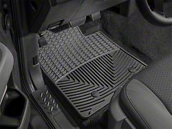 Weathertech All-Weather Front Rubber Floor Mats; Black (12-15 Tacoma)