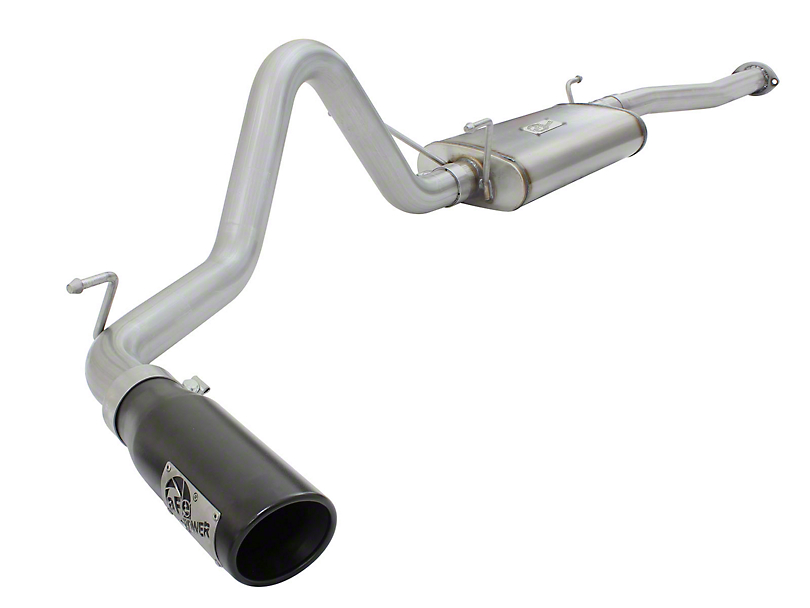 AFE MACH Force XP 2.5 in. Single Exhaust System w/ Black Tip - Side Exit (13-15 2.7L Tacoma)
