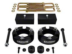 Supreme Suspensions 2-Inch Front / 1-Inch Rear Pro Billet Lift Kit (05-21 4WD Tacoma)
