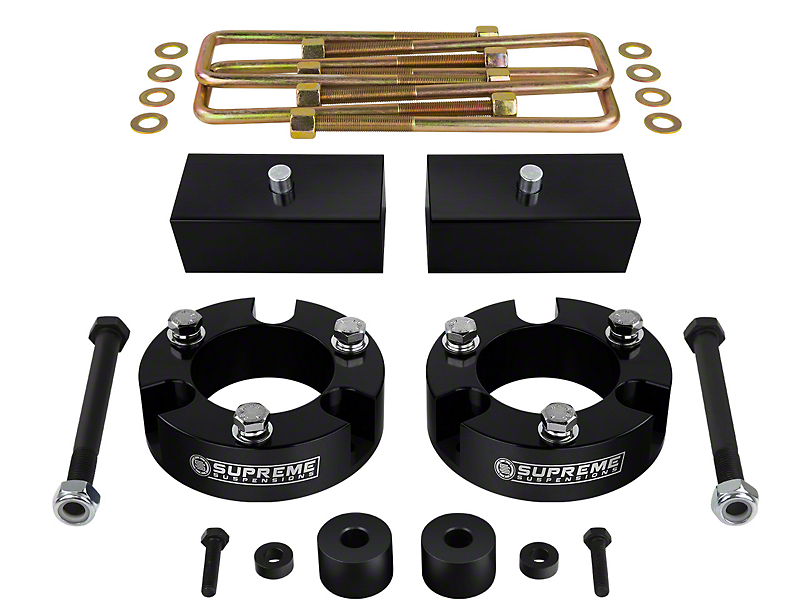 Supreme Suspensions 2.5 in. Front / 1.5 in. Rear Pro Billet Lift Kit (05-20 4WD Tacoma)