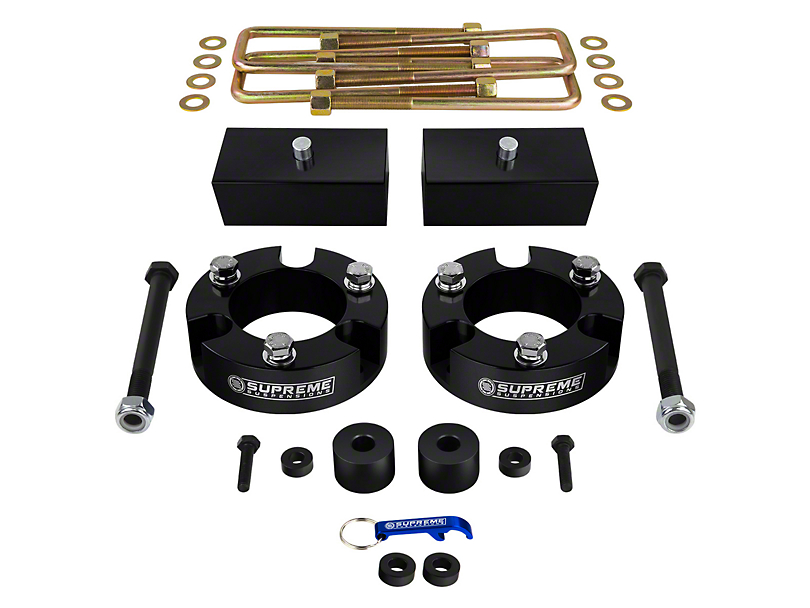 Supreme Suspensions 3 in. Front / 1 in. Rear Pro Billet Lift Kit (05-20 4WD Tacoma)