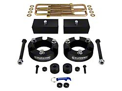 Supreme Suspensions 3-Inch Front / 1-Inch Rear Pro Billet Lift Kit (05-21 4WD Tacoma)