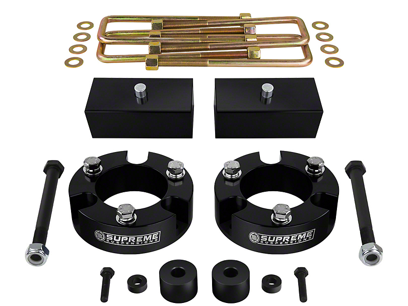 Supreme Suspensions 3 in. Front / 1.5 in. Rear Pro Billet Lift Kit (05-19 4WD Tacoma)