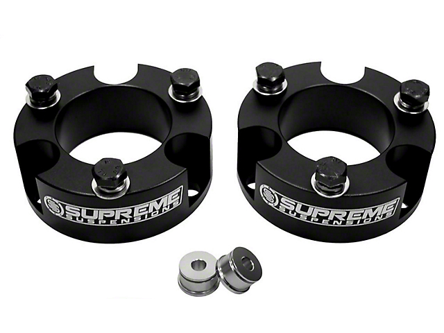Supreme Suspensions 2 in. Pro Billet Strut Spacers (05-19 6-Lug Tacoma)