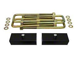 Supreme Suspensions 1-Inch Pro Billet Rear Lift Blocks (05-21 6-Lug Tacoma)
