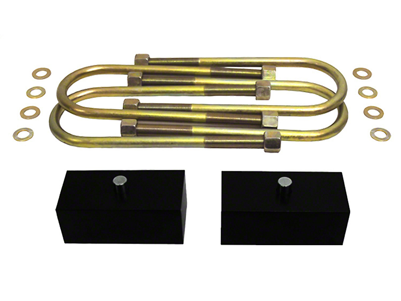 Supreme Suspensions 1.5 in. Pro Billet Rear Lift Blocks (05-19 6-Lug Tacoma)