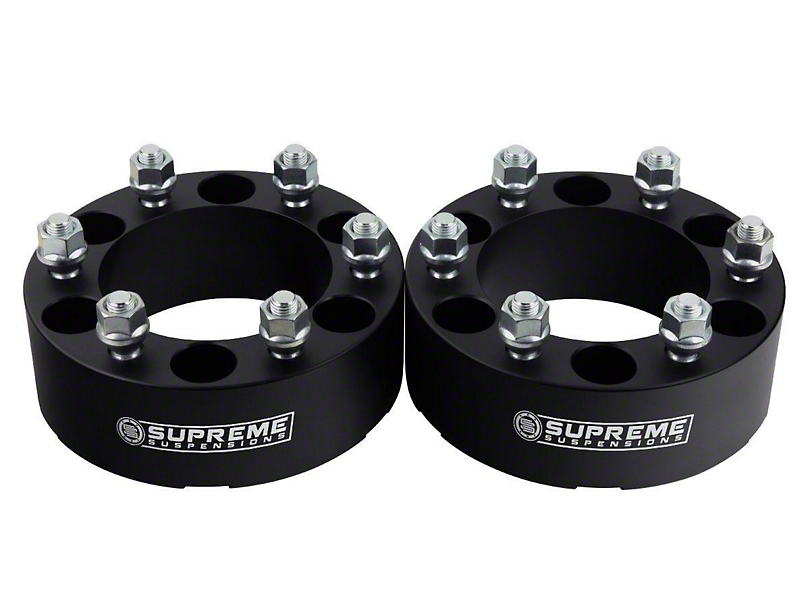 Supreme Suspensions 2 in. Pro Billet Lug Centric Wheel Spacers - Set of Two (05-20 Tacoma PreRunner, 4WD Tacoma)