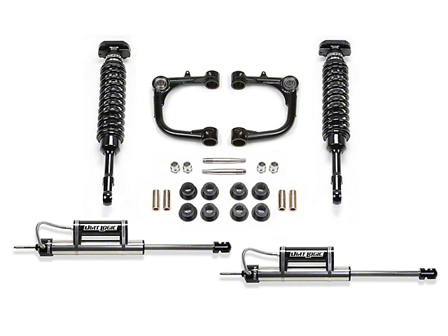 Fabtech 3 in. Uniball Upper Control Arm Lift System w/ Dirt Logic Coilovers & Shocks (15-19 Tacoma)