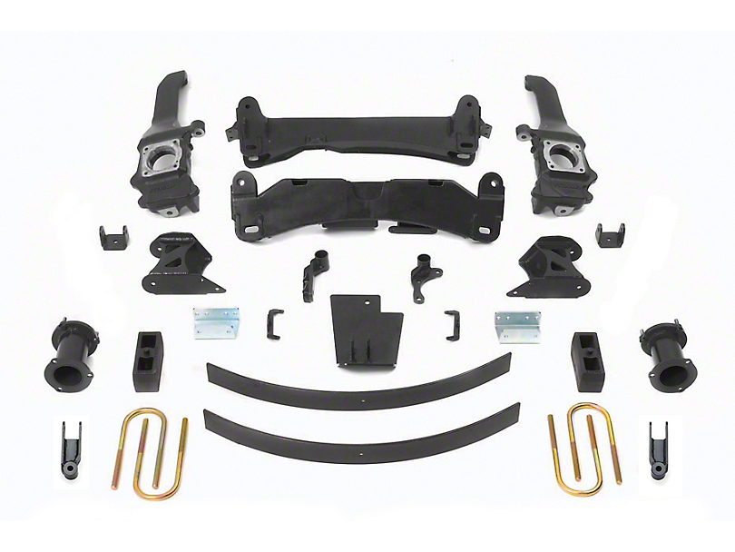 Fabtech 6 in. Basic Lift System (16-20 Tacoma)