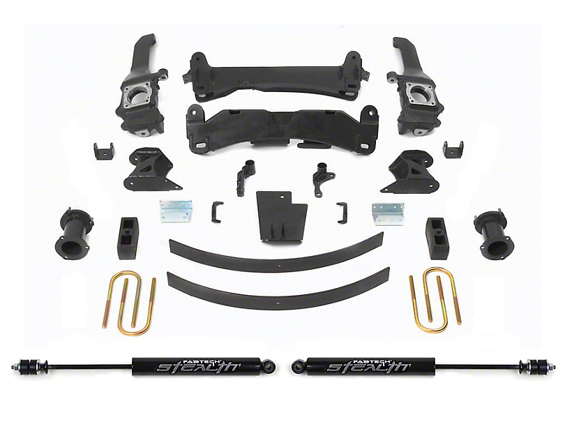 Fabtech 6 in. Basic Lift System w/ Stealth Shocks (16-20 Tacoma)