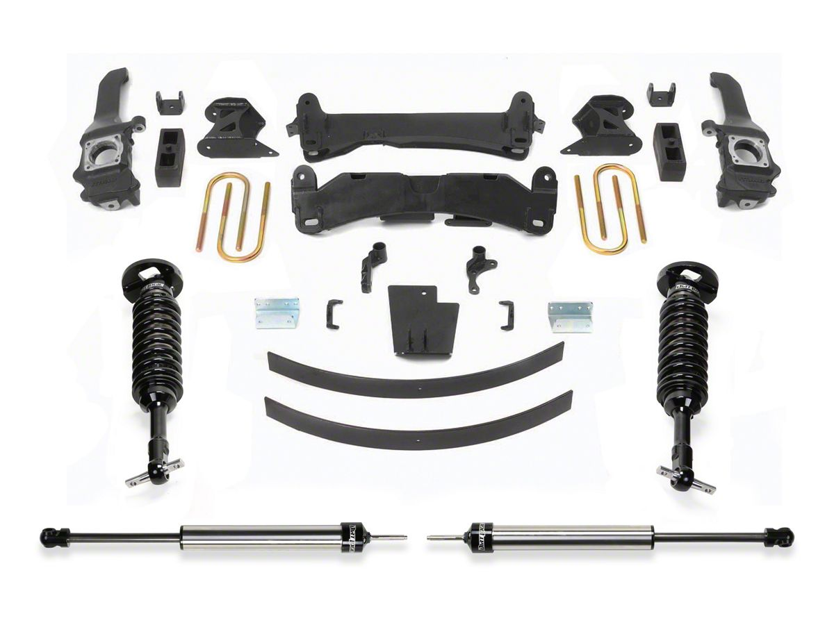 Fabtech 6 in  Performance Lift System w/ Dirt Logic Coilovers & Shocks  (16-19 Tacoma)