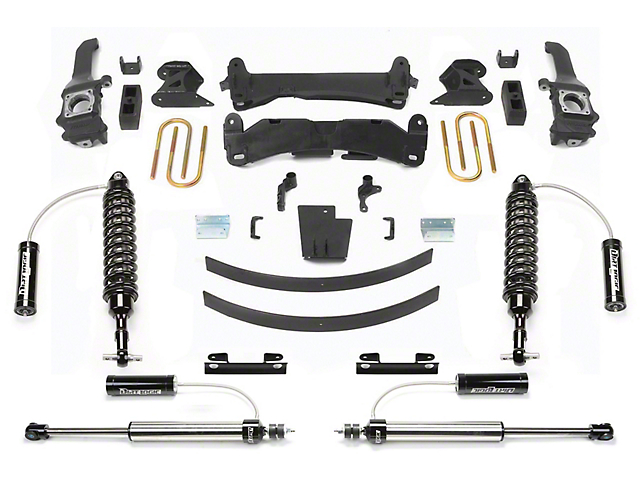 Fabtech 6 in. Performance Lift System w/ Dirt Logic Reservoir Coilovers & Reservoir Shocks (16-19 Tacoma)
