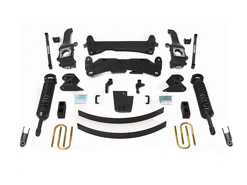Fabtech 6 in. Performance Lift System w/ Dirt Logic Coilovers (2015 Tacoma)