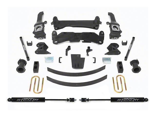 Fabtech 6-Inch Basic Suspension Lift Kit with Stealth Shocks (05-14 6-Lug Tacoma)