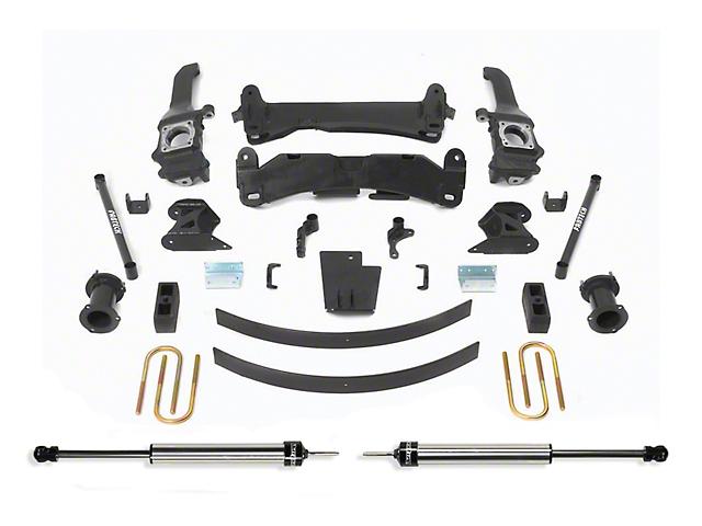 Fabtech 6-Inch Basic Suspension Lift Kit with Dirt Logic Shocks (05-14 6-Lug Tacoma)