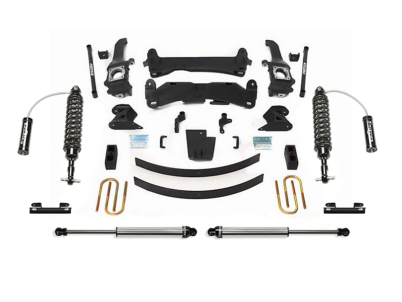 Fabtech 6-Inch Performance Suspension Lift Kit with Dirt Logic Reservoir Coil-Overs and Shocks (05-14 6-Lug Tacoma)