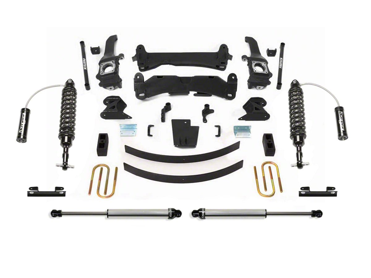 Fabtech 6 in  Performance Lift System w/ Dirt Logic Reservoir Coilovers &  Shocks (05-14 6-Lug Tacoma)