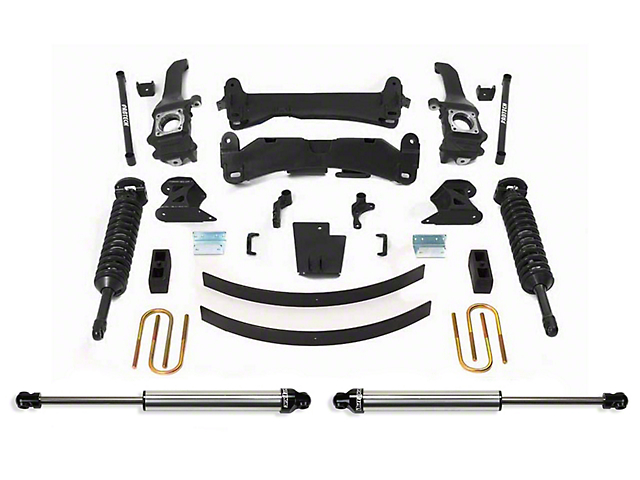 Fabtech 6-Inch Performance Suspension Lift Kit with Dirt Logic Coil-Overs and Shocks (05-14 6-Lug Tacoma)