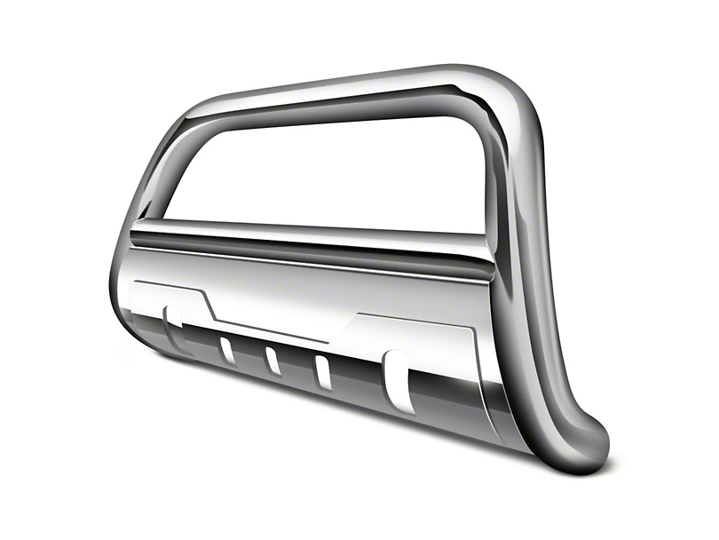 Black Horse Off Road 3.5 in. Savannah Oval Bull Bar - Stainless (16-19 Tacoma)