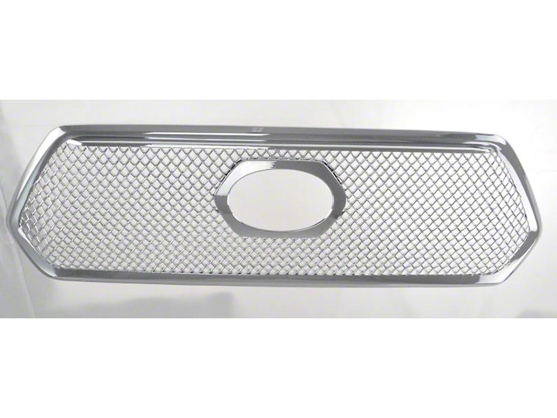 Mesh Upper Overlay Grille - Chrome (16-17 Tacoma)
