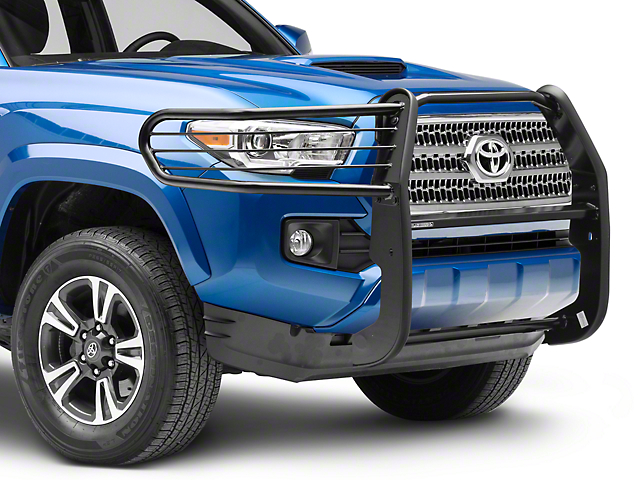 Grille Guard; Black (16-20 Tacoma)