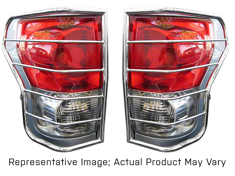 Tail Light Guards - Stainless Steel (08-13 Tacoma)