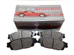 SP Performance Street Plus Semi-Metallic Brake Pads; Front Pair (05-15 6-Lug Tacoma)