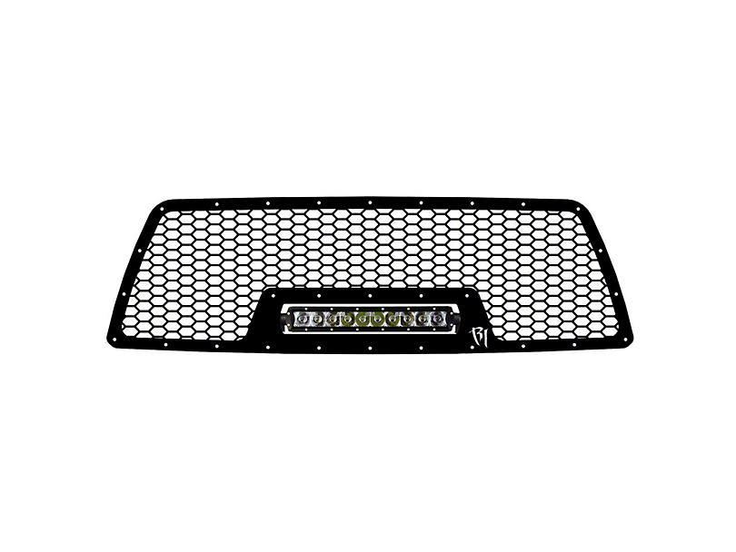 Rigid Industries Upper Replacement Grille for 10 in. E-Series LED Light Bar - Black (05-10 Tacoma)